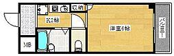 アネックス西村[205号室]の間取り