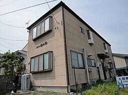 長野県松本市神田2丁目の賃貸アパートの外観