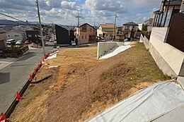1号地からの眺望です。敷地からは瀬戸内海が一望できます。 現地(2017年1月14日)撮影