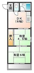 第5土居マンション[3階]の間取り