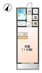 東栄荘[2階]の間取り