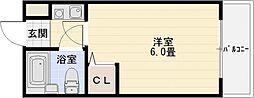 プレステージ国分[3階]の間取り