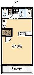 メゾン・ド・U[203号室]の間取り