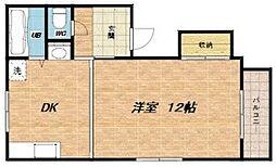桜マンション[5階]の間取り