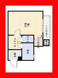 エ・スパシオ名西[6階]の間取り
