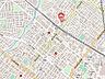 地図,3LDK,面積67.32m2,賃料7.8万円,JR函館本線 琴似駅 徒歩2分,札幌市営東西線 琴似駅 徒歩10分,北海道札幌市西区八軒一条西1丁目1番20号
