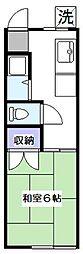 富士見荘[2階]の間取り