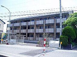 富山県高岡市古定塚の賃貸アパートの外観
