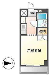 プレズ名古屋田代I[3階]の間取り