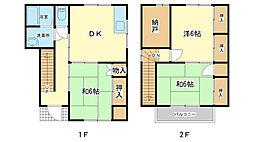 [一戸建] 兵庫県姫路市辻井1丁目 の賃貸【/】の間取り
