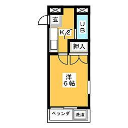 ATS千代田橋ハイツ[3階]の間取り