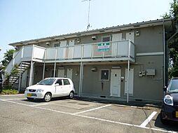 東京都あきる野市二宮の賃貸アパートの外観