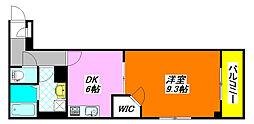 レガーロ・布施 1009号室[10階]の間取り