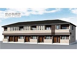 埼玉県上尾市原市の賃貸アパートの外観