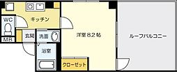 アミティエ片野[2階]の間取り