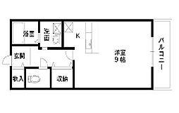 プレステージI[2階]の間取り