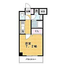 スペイサイドK[5階]の間取り