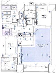 DEUX TOURS(ドゥ・トゥール) 37階2LDKの間取り