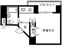 パルテール 1[2階]の間取り