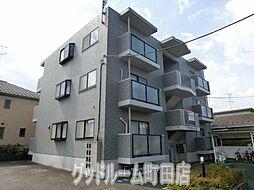 東京都町田市木曽西4丁目の賃貸マンションの外観