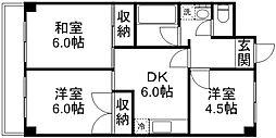 第2野田マンション[302号室]の間取り