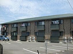 三重県四日市市富田2丁目の賃貸アパートの外観