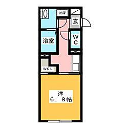 LUORE名駅[3階]の間取り