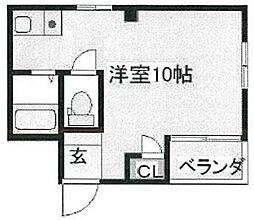 BM北堀江[5階]の間取り
