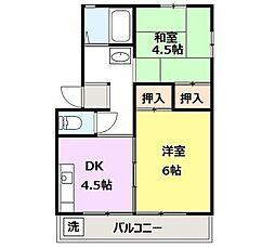 高崎昭和ビル[104号室]の間取り