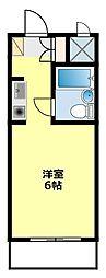 愛知県豊田市室町1丁目の賃貸マンションの間取り