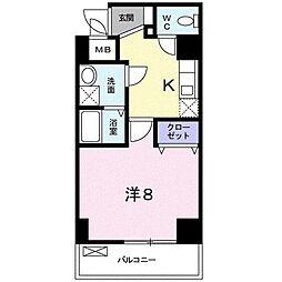 ラ・フォルテ新大阪[0201号室]の間取り