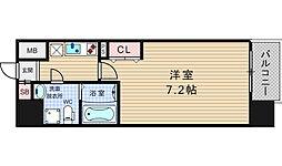 アドバンス大阪ルーチェ[9階]の間取り