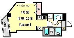 OULU千葉中央[201号室]の間取り