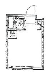 東京都北区東十条2丁目の賃貸アパートの間取り