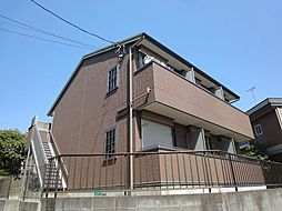 神奈川県横浜市都筑区仲町台3丁目の賃貸アパートの外観