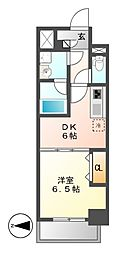 MEIBOU TESERA(メイボーテセラ)[7階]の間取り