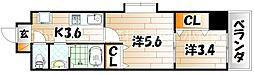 デザイナープリンセス77[10階]の間取り