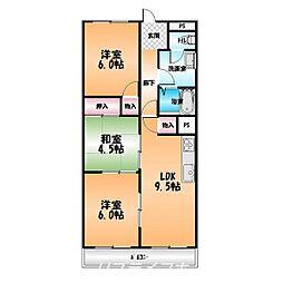 シティAZUMA[2階]の間取り