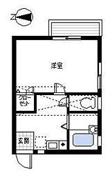 フォレストガーデン[2階]の間取り