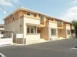 長野県上田市御嶽堂の賃貸アパートの外観
