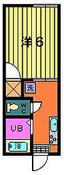 第一サフランハイツ[2階]の間取り