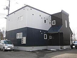 北海道砂川市東七条南4丁目の賃貸アパートの外観