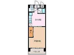 39マンション[3階]の間取り