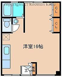 吉田マンション[202号室]の間取り