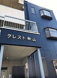 埼玉県草加市栄町1丁目の賃貸アパートの外観