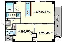 (仮称)木川東3丁目マンション[5階]の間取り