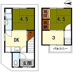 北大路駅 380万円