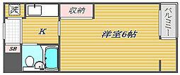 上板橋ダイカンプラザCity[1階]の間取り