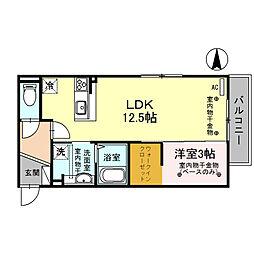 仮)D-room本町[2階]の間取り