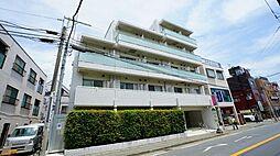 神奈川県川崎市多摩区登戸新町の賃貸マンションの外観
